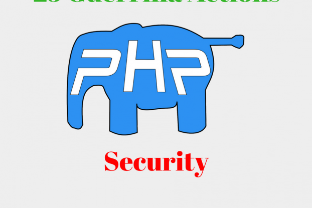 25 guerrilla actions for php security