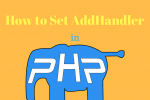 How to set AddHanlder in PHP